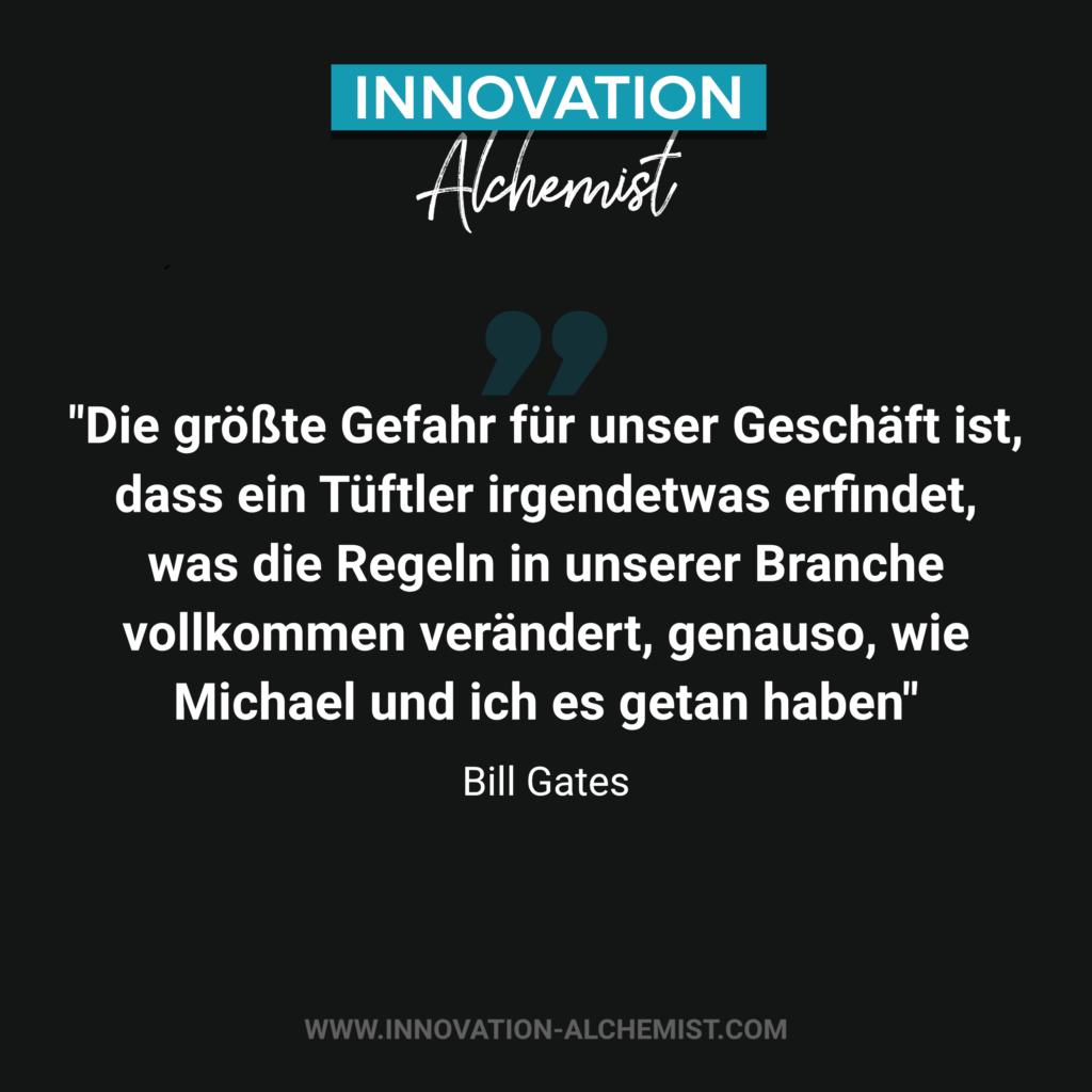 Zitat Innovation von Bill Gates