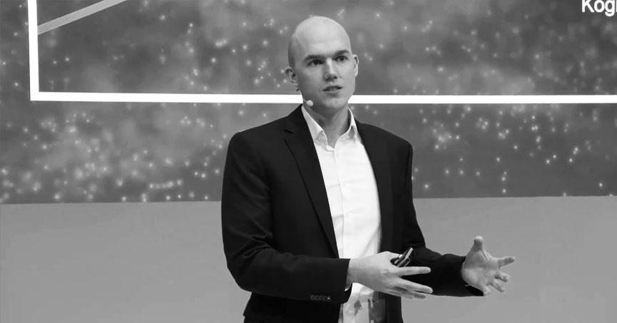 Vortrag Innovation im Maschinenbau von Felix Kranert