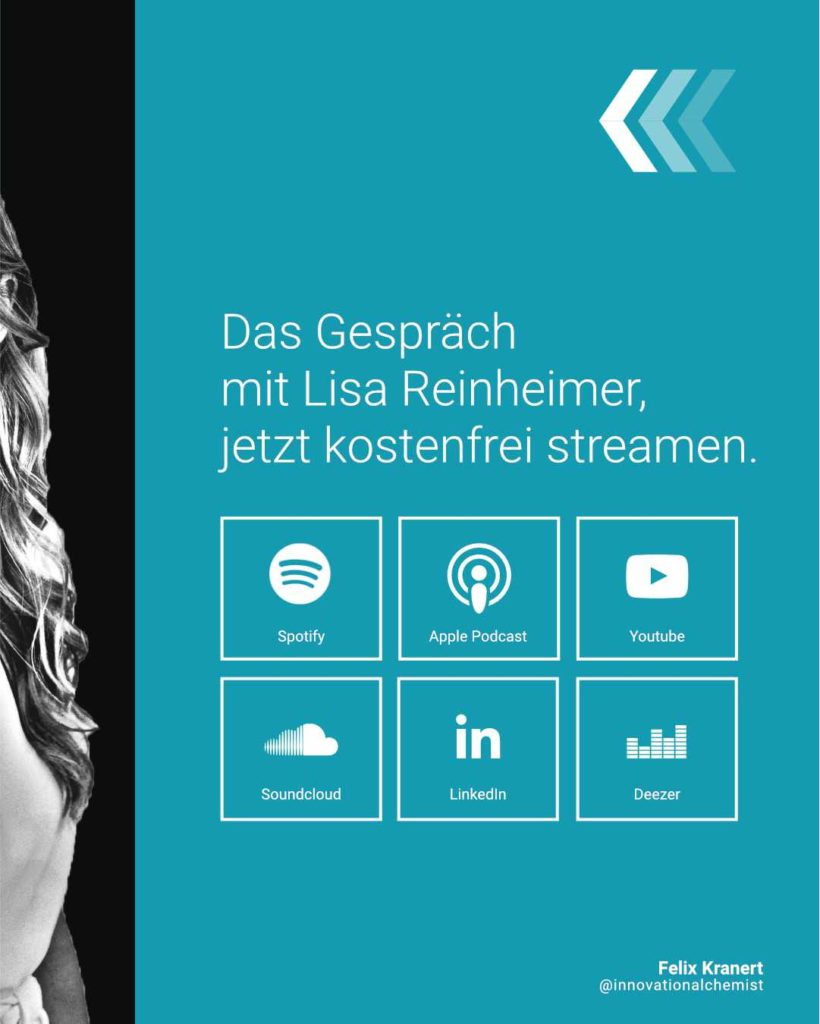 Lisa Reinheimer im Podcast Interview