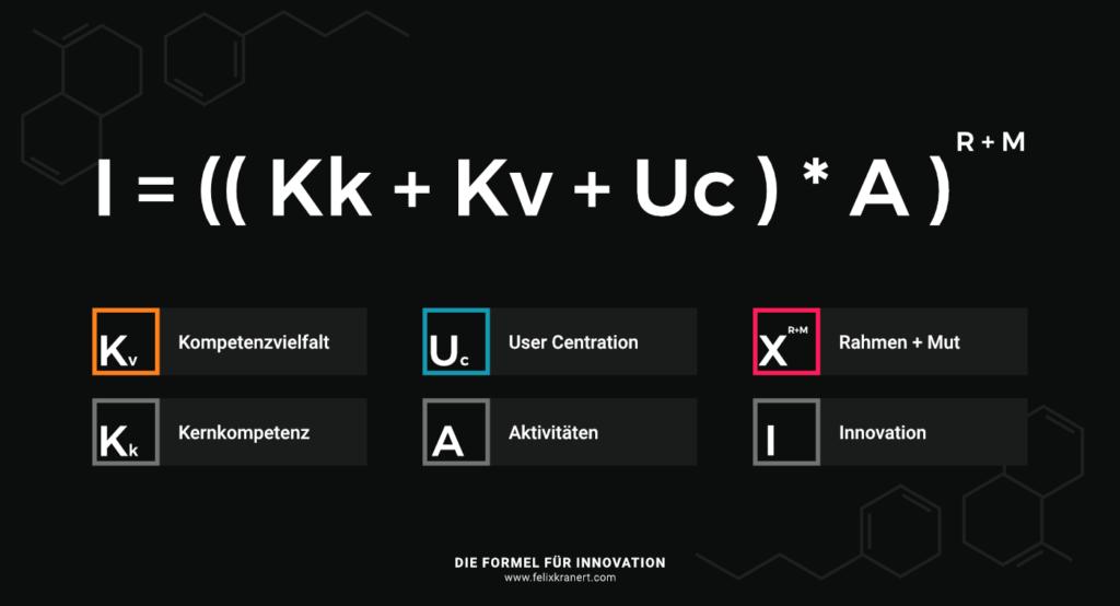 Formel für Innovation   Felix Kranert