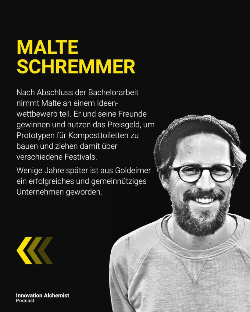 Goldeimer Gründer Malte Schremmer