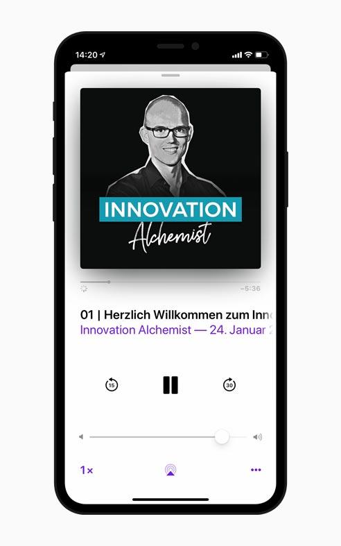 Innovationsmanagement Strategien im Innovation Alchemist Podcast