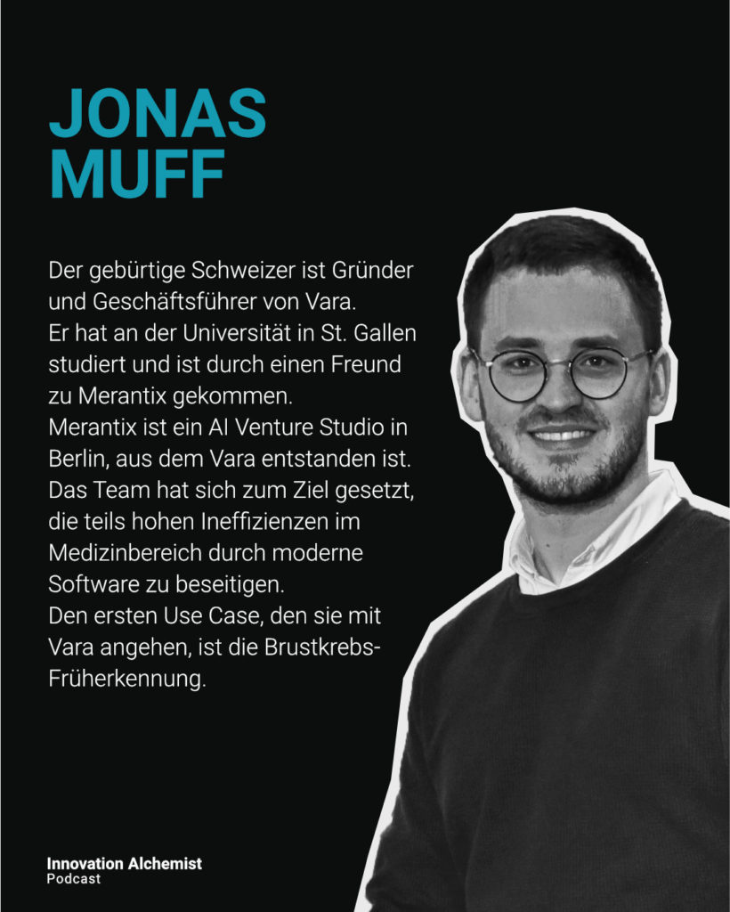 Jonas Muff im Innovation Alchemist Podcast