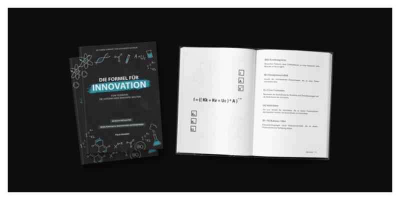 Jetzt erhältlich: Das Buch zur Formel für Innovation