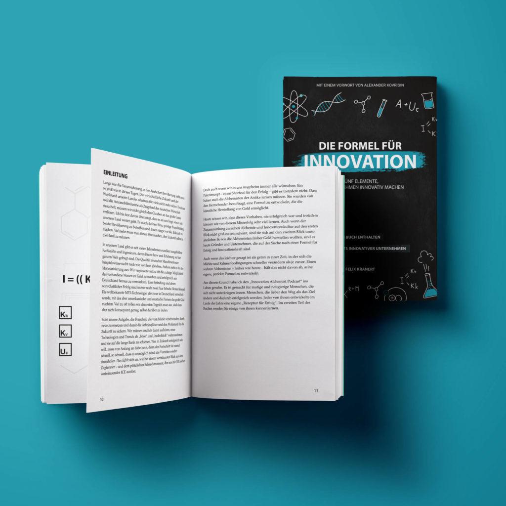 Die Formel für Innovation | Felix Kranert | Buch offen